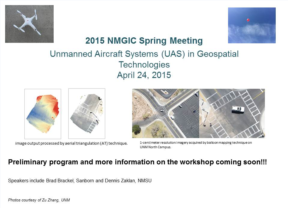 NMGIC Spring Meeting April 24, 2015